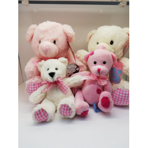 Baby Girl Teddies