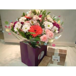 Flowers + Chocolates