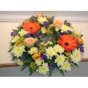 Vibrant/Colourful Wreath