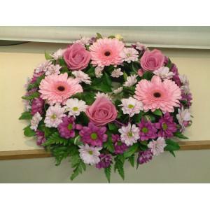 Pinks & Purples Wreath