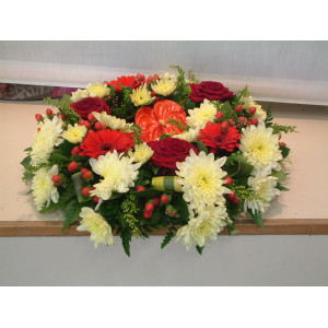 Red & Yellows Wreath