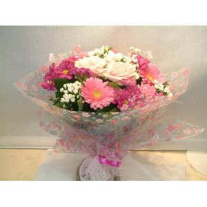 Baby Girl Hand Tied