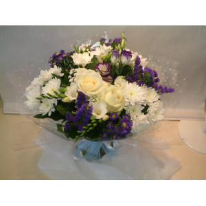 Baby Boy Hand Tied