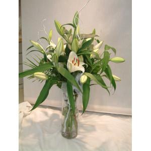 Vase of Lillies