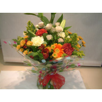 Autumn Colours Hand Tied