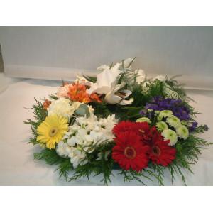 Grouped Wreath