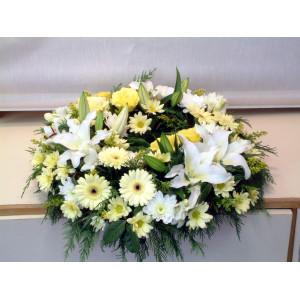 Cream & White Wreath